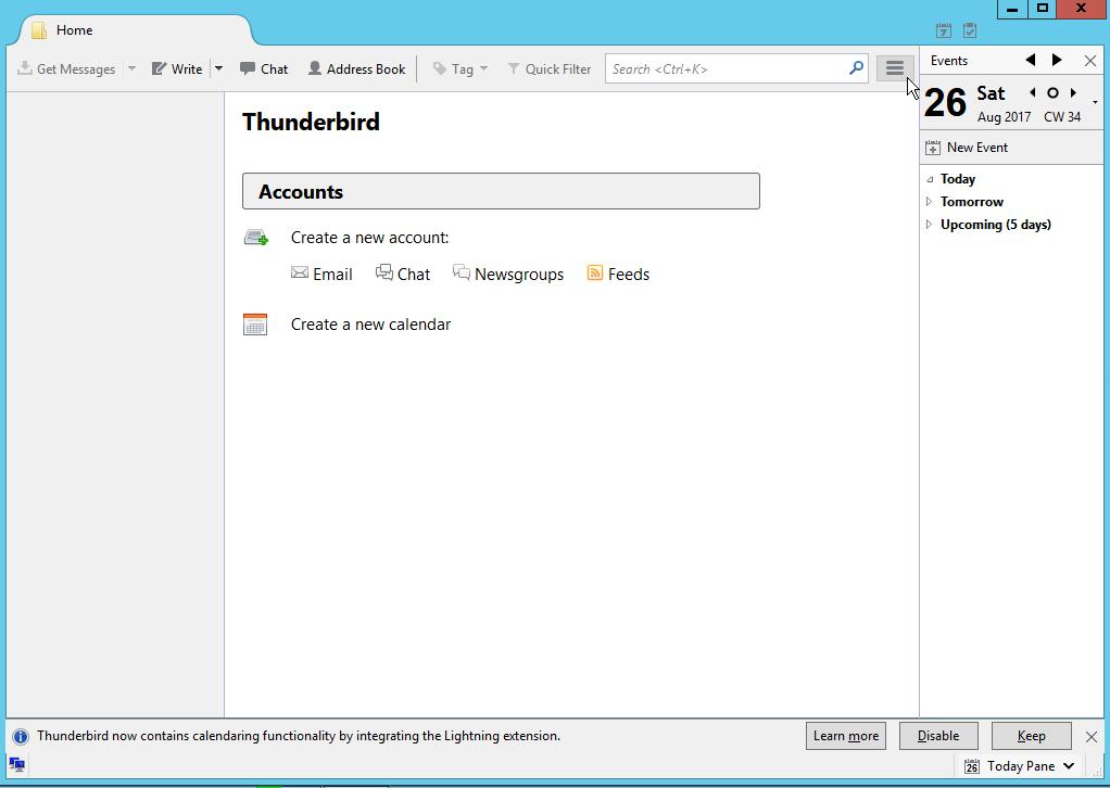 Setting up Dodo email in Mozilla Thunderbird