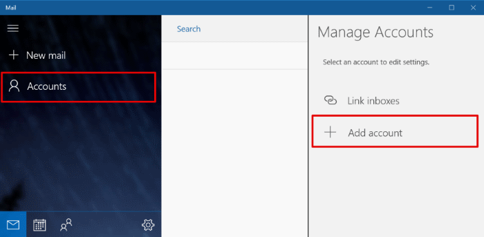 Setting up iPrimus email in Windows 10 Mail